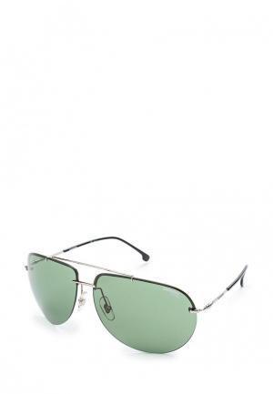 Очки солнцезащитные Carrera. Цвет: серебряный