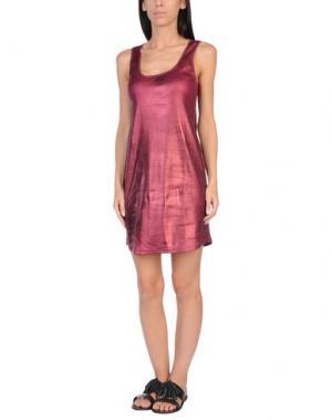 Пляжное платье JOHN GALLIANO BEACHWEAR. Цвет: пурпурный