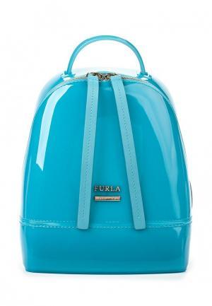 Рюкзак Furla. Цвет: голубой