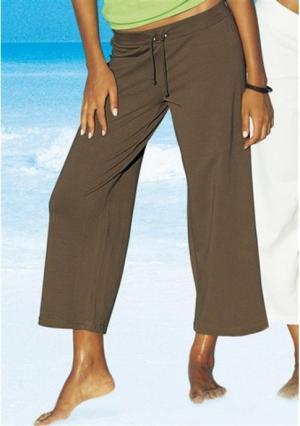 Пляжные брюки BEACH TIME. Цвет: белый, темно-синий, хаки, черный
