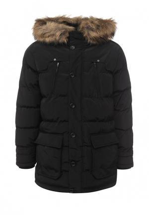 Куртка утепленная Mustang. Цвет: черный