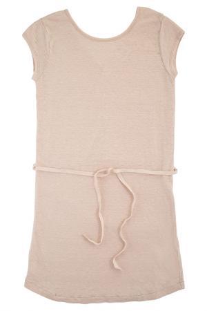 Платье HARTFORD. Цвет: бежевый