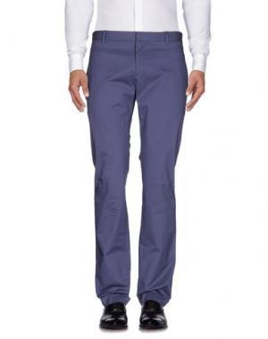 Повседневные брюки GOLD CASE by ROCCO FRAIOLI. Цвет: грифельно-синий