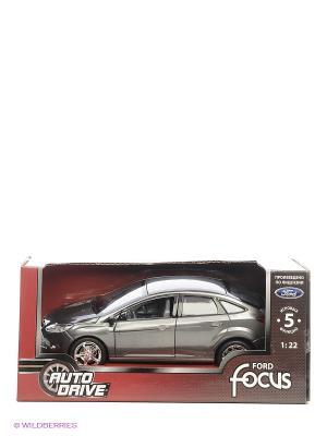 Машинка Форд Фокус AUTODRIVE. Цвет: темно-серый