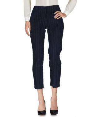 Повседневные брюки VIRGINIA BIZZI. Цвет: синий