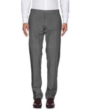 Повседневные брюки EM'S OF MASON'S. Цвет: зеленый-милитари