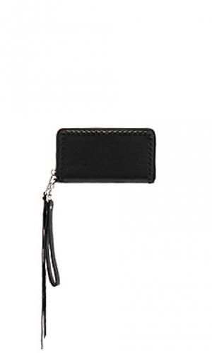 Бумажник со слотом для телефона vanity Rebecca Minkoff. Цвет: черный
