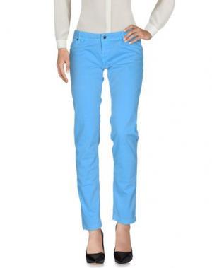 Повседневные брюки JFOUR. Цвет: лазурный
