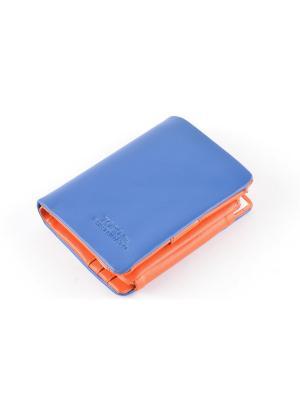 Кошелек TOPO FORTUNATO. Цвет: синий, оранжевый