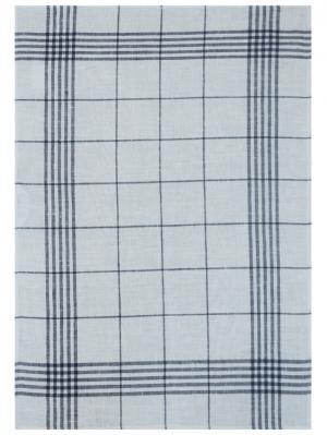Полотенце Белорусский Лен. Цвет: белый, синий