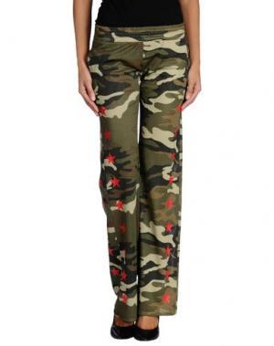 Повседневные брюки ODI ET AMO. Цвет: зеленый-милитари