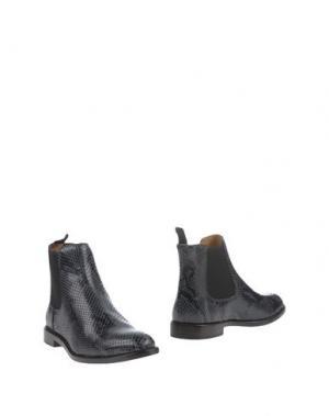 Полусапоги и высокие ботинки MARC JACOBS. Цвет: грифельно-синий