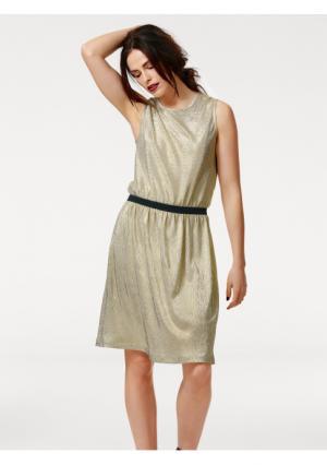 Платье B.C. BEST CONNECTIONS by Heine. Цвет: золотистый
