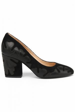 Туфли Michele. Цвет: черный