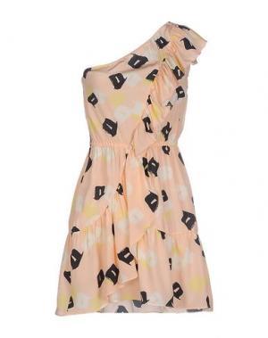 Короткое платье DRESS GALLERY. Цвет: светло-розовый