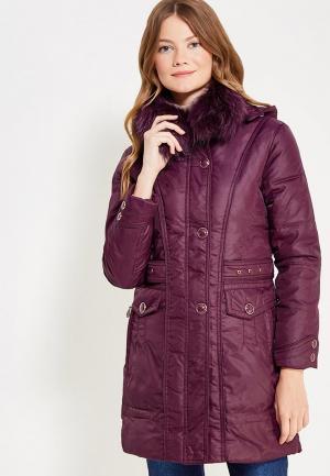 Куртка утепленная Vitario. Цвет: фиолетовый