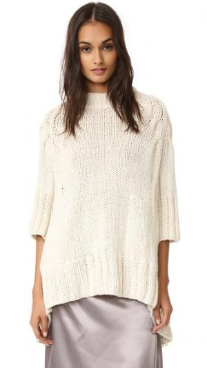 Кашемировый свитер Sahara Spencer Vladimir. Цвет: золотой