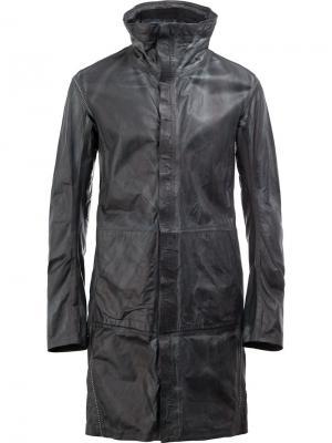 Куртка с высоким воротом Isaac Sellam Experience. Цвет: синий