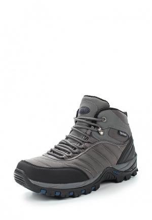 Ботинки трекинговые Ascot. Цвет: серый