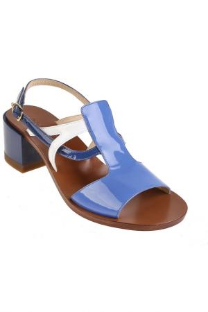 Туфли летние LAutre Chose L'Autre. Цвет: blue