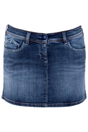 Юбка Armani Jeans. Цвет: синий