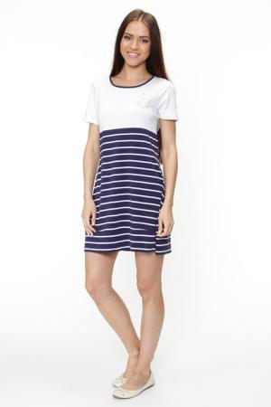 Платье пляжное MARC&ANDRE. Цвет: синий