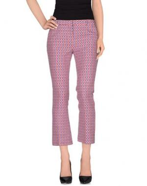 Повседневные брюки MAURO GRIFONI. Цвет: фуксия