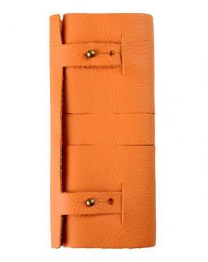 Косметичка THIS IS GROUND. Цвет: оранжевый
