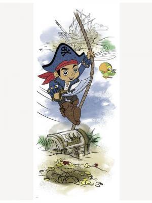 Наклейки для декора - Дисней: Капитан Джейк и пираты Нетландии ROOMMATES. Цвет: белый, голубой, желтый, зеленый, красный, оранжевый, серый, синий, черный
