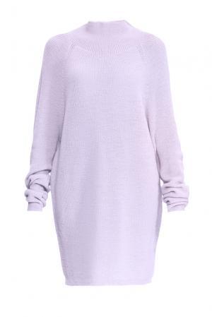 Туника из шерсти 153301 Norsoyan. Цвет: фиолетовый