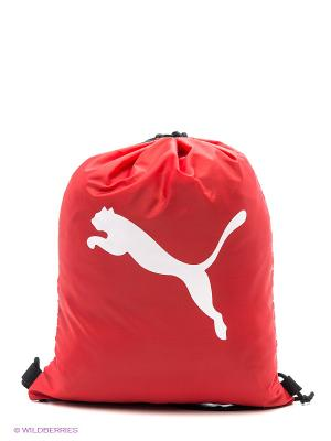 Мешок Pro Training Gym Sack Puma. Цвет: красный, черный