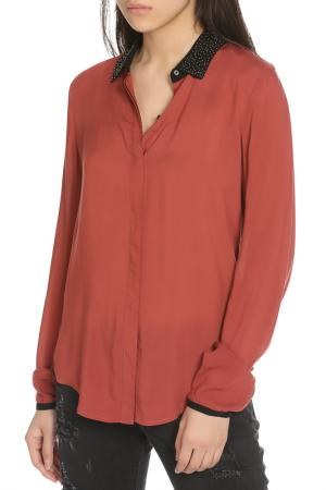 Рубашка Scotch&Soda. Цвет: dried rose, розовый