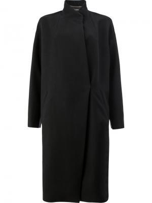 Пальто-кокон 32 Paradis Sprung Frères. Цвет: чёрный