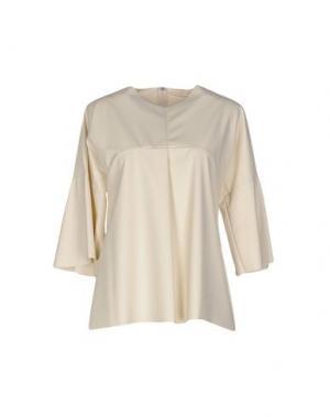 Блузка TROU AUX BICHES. Цвет: бежевый