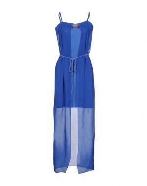 Платье до колена KORALLINE. Цвет: лазурный