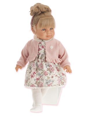 Кукла Нина, 55 см. Antonio Juan. Цвет: бледно-розовый