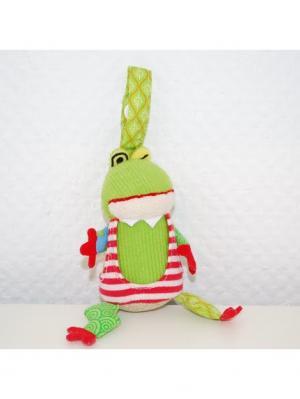 Игрушка Deglingos Лягушонок Croakos - брелок. Цвет: зеленый