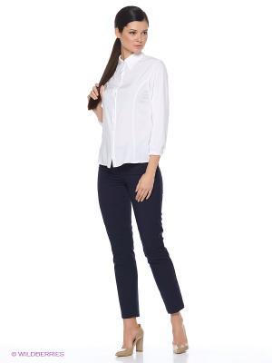 Блузка Elestrai. Цвет: белый