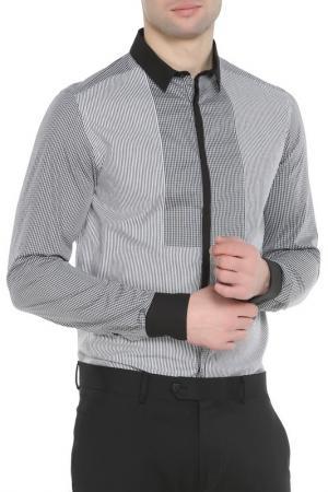 Рубашка CNC COSTUME NATIONAL C'N'C'. Цвет: серый