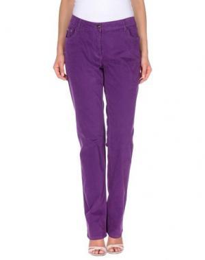 Повседневные брюки CONTE OF FLORENCE. Цвет: розовато-лиловый