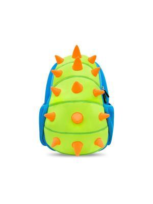 Рюкзачок Шипастик NoHoo. Цвет: синий, оранжевый, салатовый