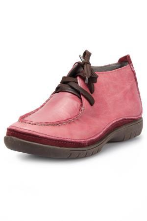 Ботинки Andrea Conti. Цвет: красный