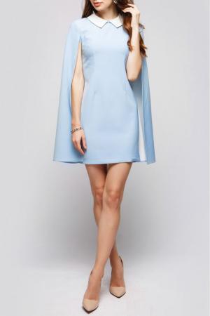 Платье ANASTASIA KOVALL. Цвет: молочно-голубой