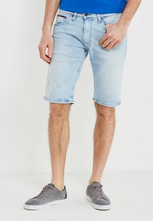 Шорты джинсовые Tommy Jeans. Цвет: голубой
