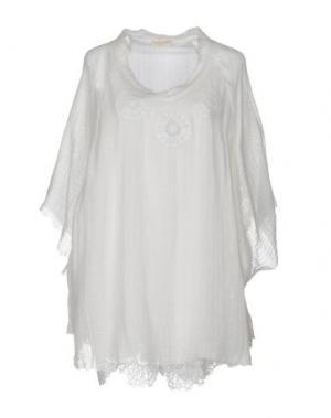 Блузка ANJUNA. Цвет: белый