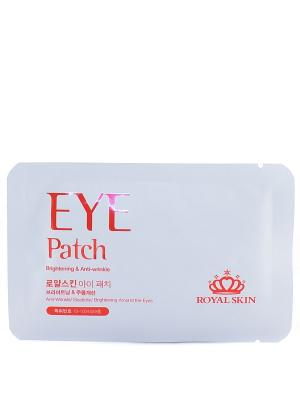 Патч для области вокруг глаз Royal Skin. Цвет: белый