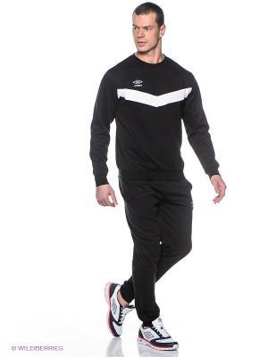 Спортивный костюм Umbro. Цвет: черный, белый