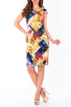 Платье S&A style. Цвет: желтый