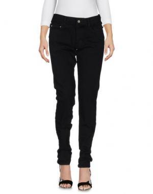 Джинсовые брюки CHRISTIAN DADA. Цвет: черный