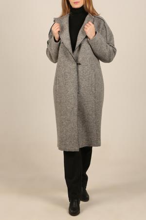 Пальто Woolhouse. Цвет: серый
